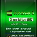 Windows 8 Green Edition 2017 By C.M Team x86 (700MB)