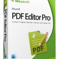 iSkysoft PDF Editor 5.12.1 With Crack