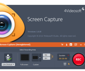 4Videosoft Screen Capture 1.1.22 + Patch !
