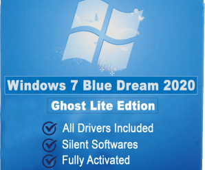 Windows 7 Blue Dream Ghost 2020 Sp1 Lite !