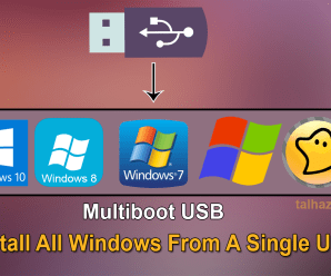 Make Multiboot USB For Windows Xp/7/8/10/Ghost!
