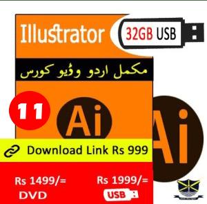 Illustrator Video Course in Urdu in Pakistan