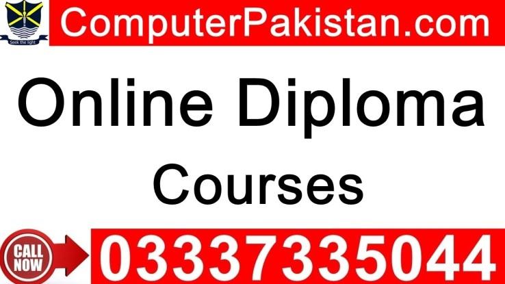 free online diploma courses in pakistan in urdu