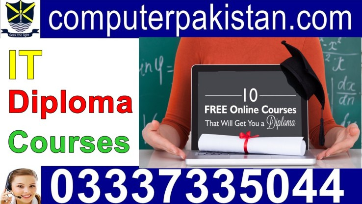 it diploma courses in pakistan