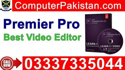 Adobe Premiere Pro Tutorials Video Editing Software in Urdu