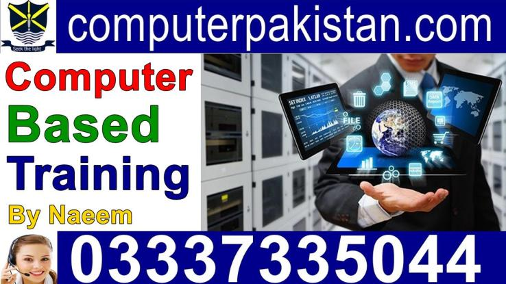 Computer Based Training Courses for IT professionals in Pakistan