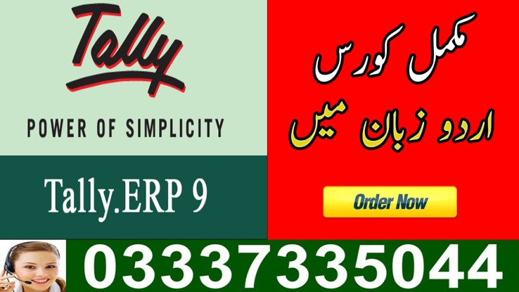 Tally Accounting Software Video Tutorial in Urdu Free Download