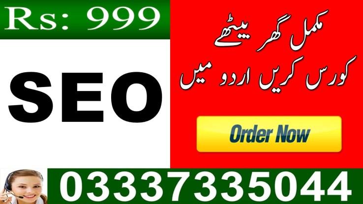 free online SEO training course in Urdu for beginners