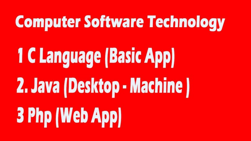 Best Computer Software Technology