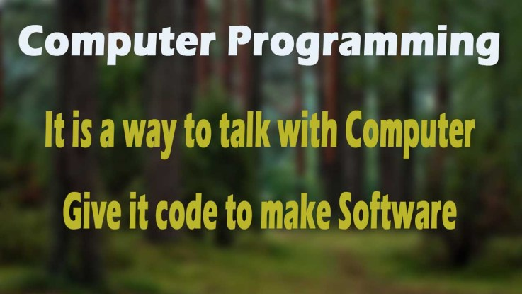 Learn What is Computer Programming
