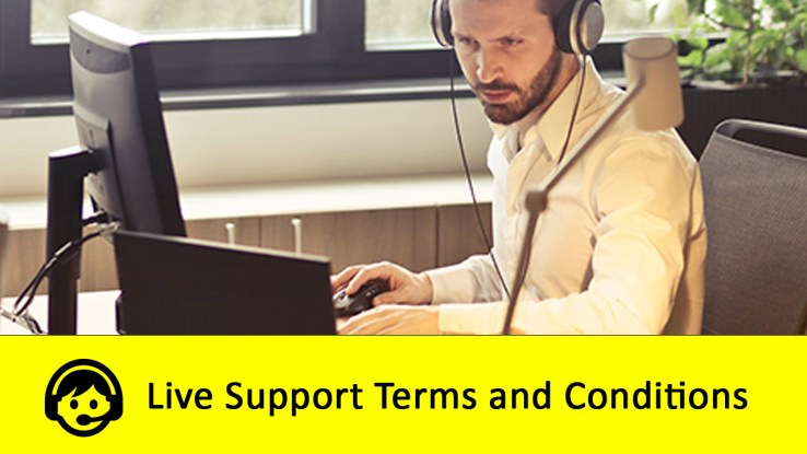 Live Support Terms and Conditions in Pakistan