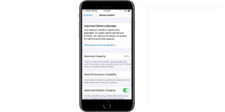 iPhone battery replacement denton