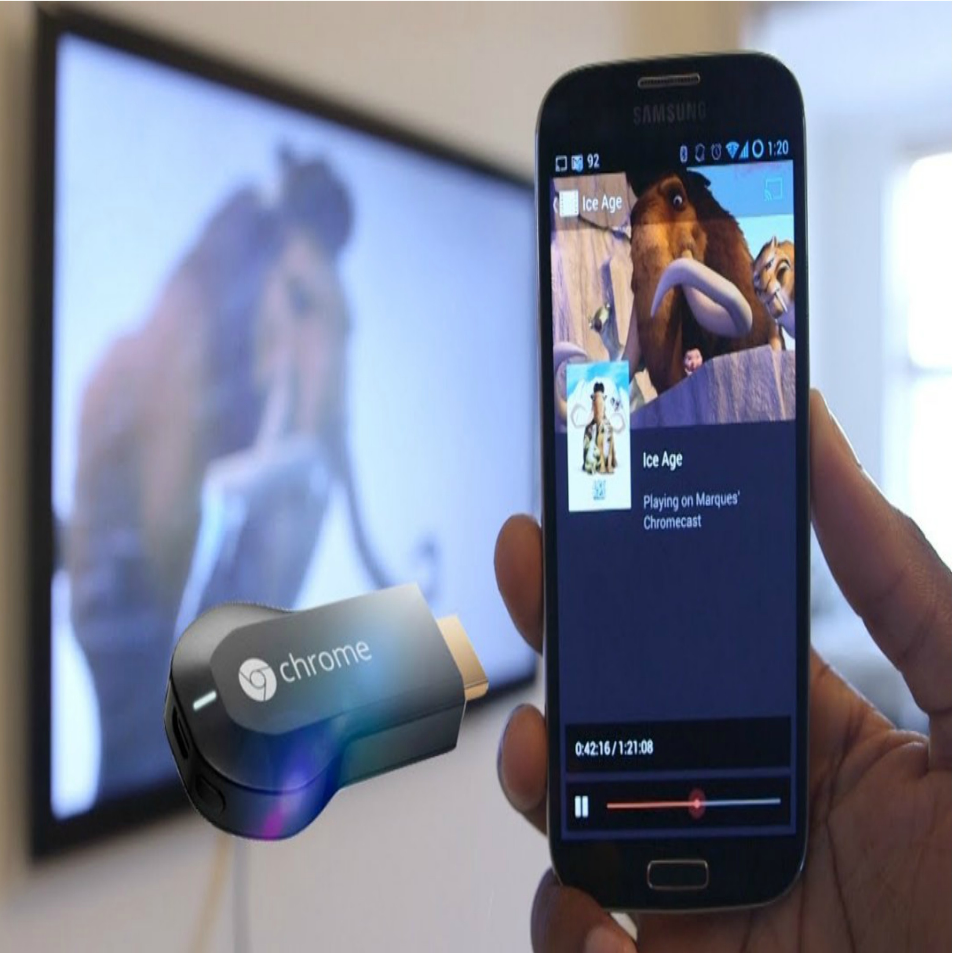 Play streaming entertainment content on your TV