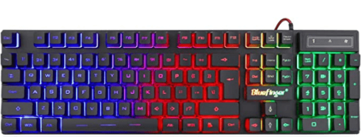 BlueFinger RGB Gaming Keyboard