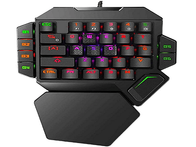 RGB One Handed Mechanical Gaming Keyboard