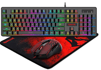 Redragon S107 Gaming Keyboard and Mouse