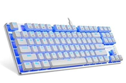 EagleTec KG061-BR Blue LED Backlit