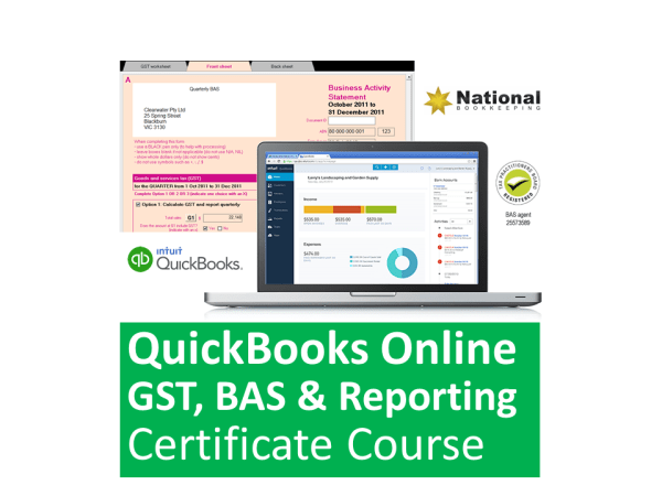 Intuit QuickBooks Online GST, BAS & Reporting Training Courses - Industry Accredited, Employer Endorsed - CTO