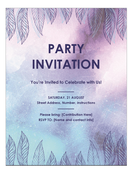Party-invitation-using-Microsoft-Office-Word-to-get-office-administration-jobs-online-training-courses-applied-education-career-academy-student-support-25-per-week