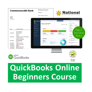 QuickBooks Online Accounting Training Beginners Certificate Courses - Industry Accredited, Employer Endorsed - CTO