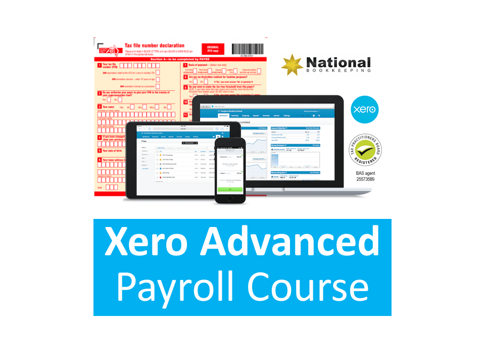 Xero Payroll Advanced Certificate Training Course