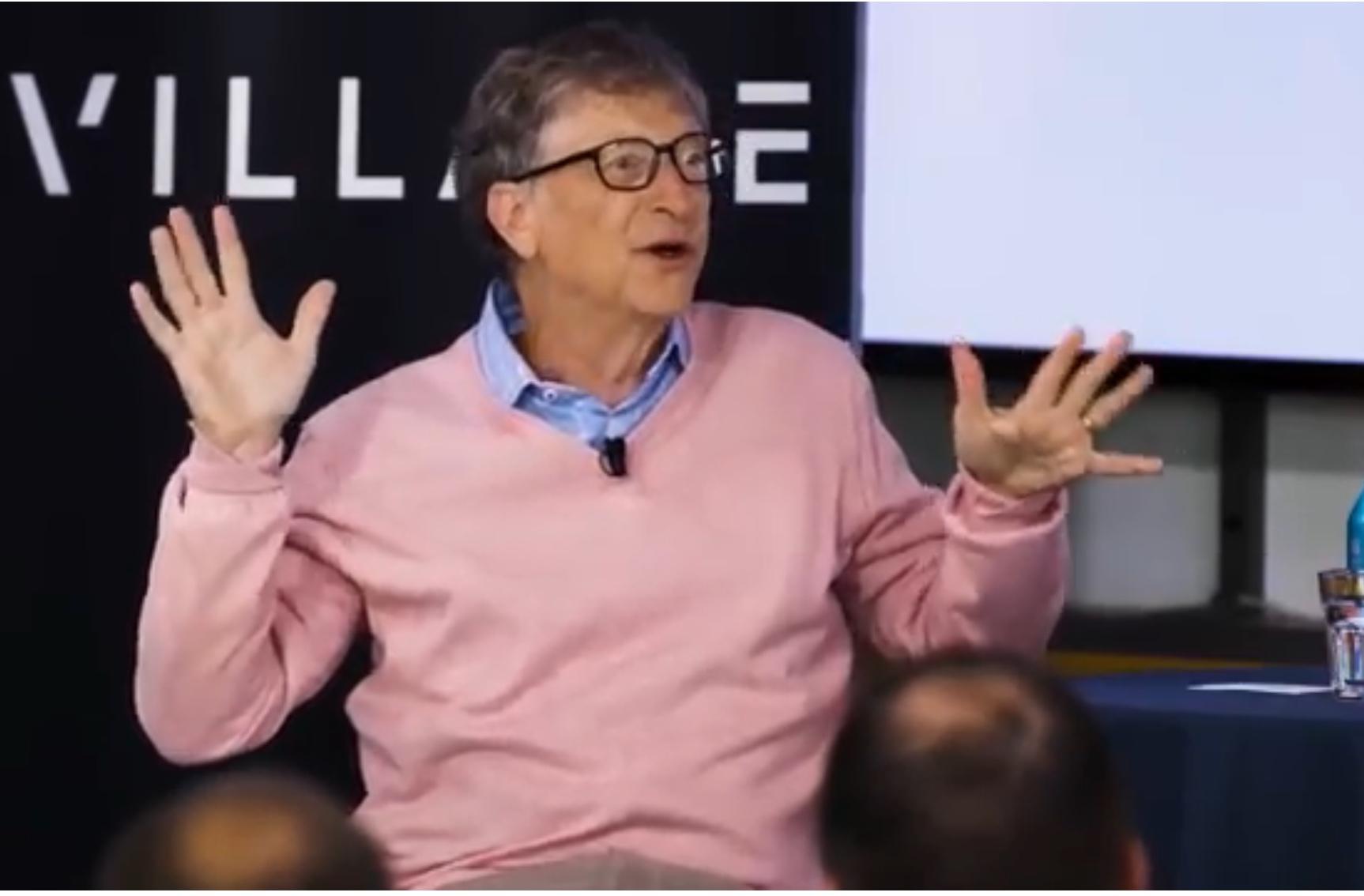 Bill Gates e il duro lavoro del programmatore