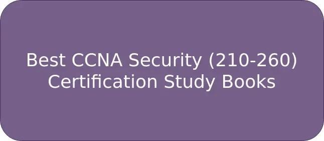Best Ccna Security 210 260 Certification Study Books
