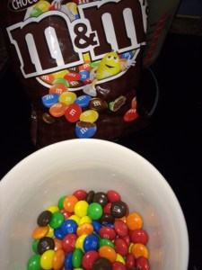 M&Ms: Begging to be used