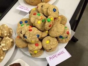 MMM MMMMMM ... M&M cookies
