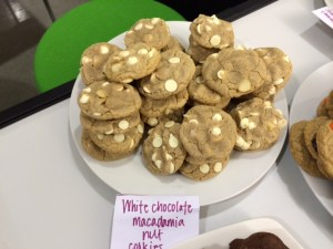 Ever-popular favorite: White chocolate macadamia cookies