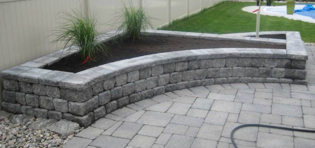 Interlocking Stone Work
