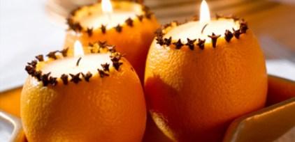 velas de laranja