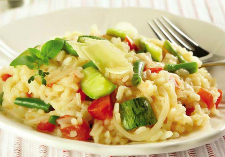 risotto de legumes