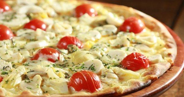 pizza alcachofra