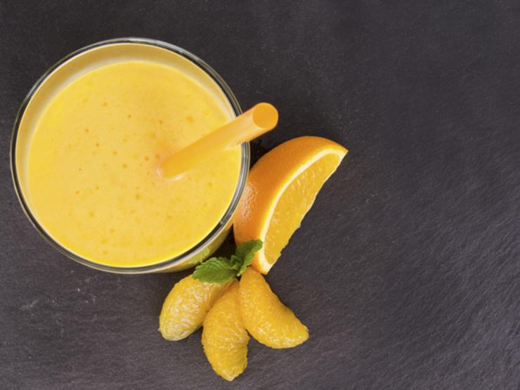 smoothie de laranja