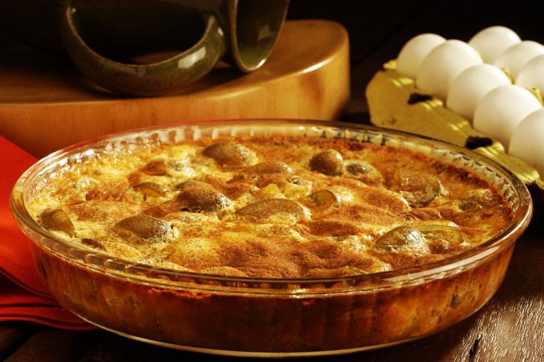 torta de figo com maça