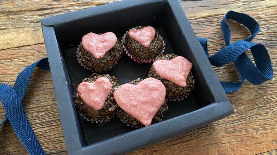 Caixinha de Brigadeiro -  Dia dos Namorados
