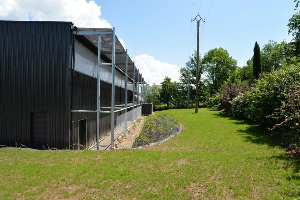 Gymnase d'Espalion, vue extérieure 2