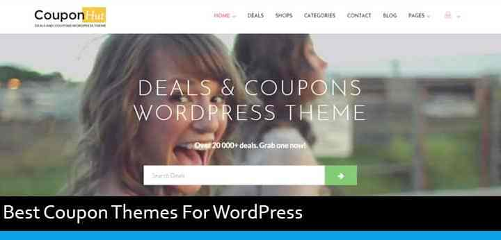 Top 5 Best WordPress Themes For Coupon Websites
