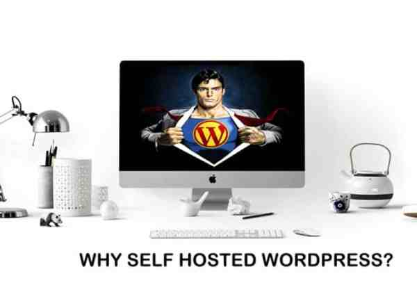 blog on self hosted wordpress platform