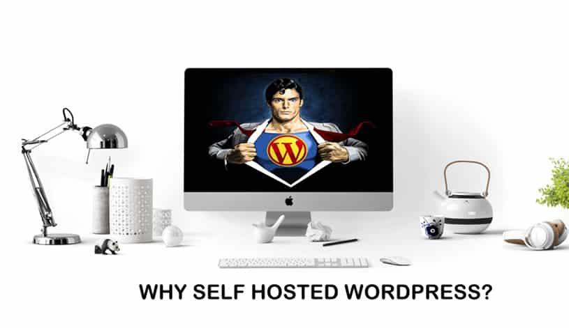blog on self hosted wordpress platform