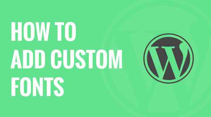 How to Use Custom Font In WordPress Genesis Child Theme