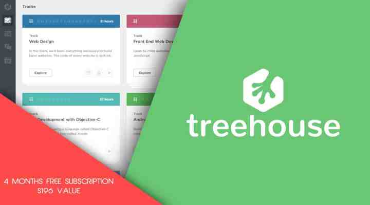 TeamTreehouse Coupon & Review: Four Months Free [ $196 Value ]