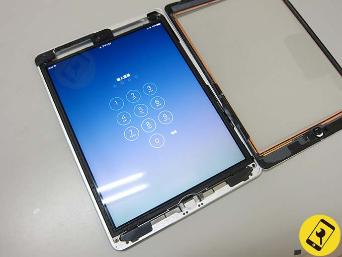 iPad air 電池膨脹