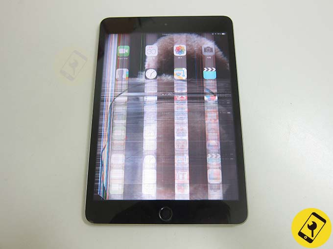 iPad mini 3 液晶破裂