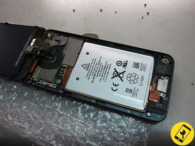 iPod Touch 5 換電池