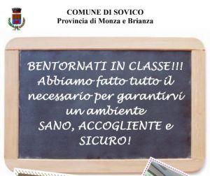 BENTORNATI IN CLASSE !!