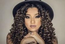 A jovem cantora é filha do cantor Marquinhos Gomes