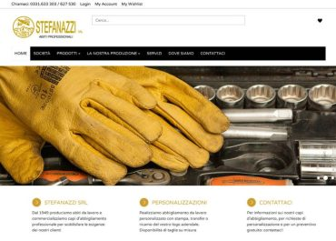 E-commerce per Stefanazzi Srl
