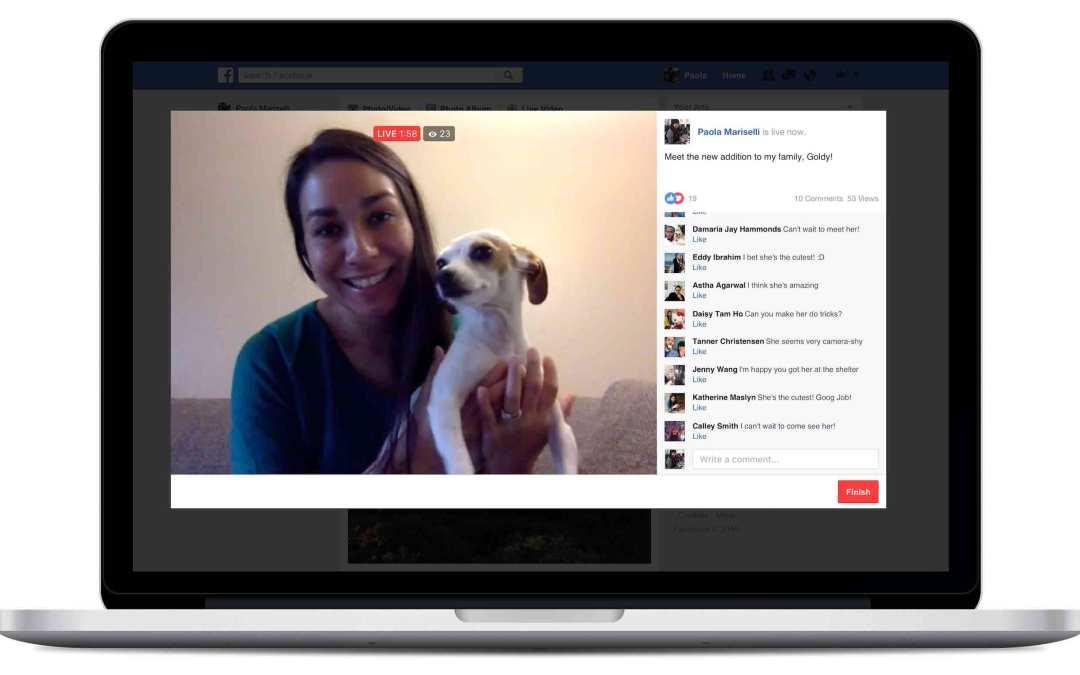 Facebook Live: ecco i consigli per fare Content Marketing
